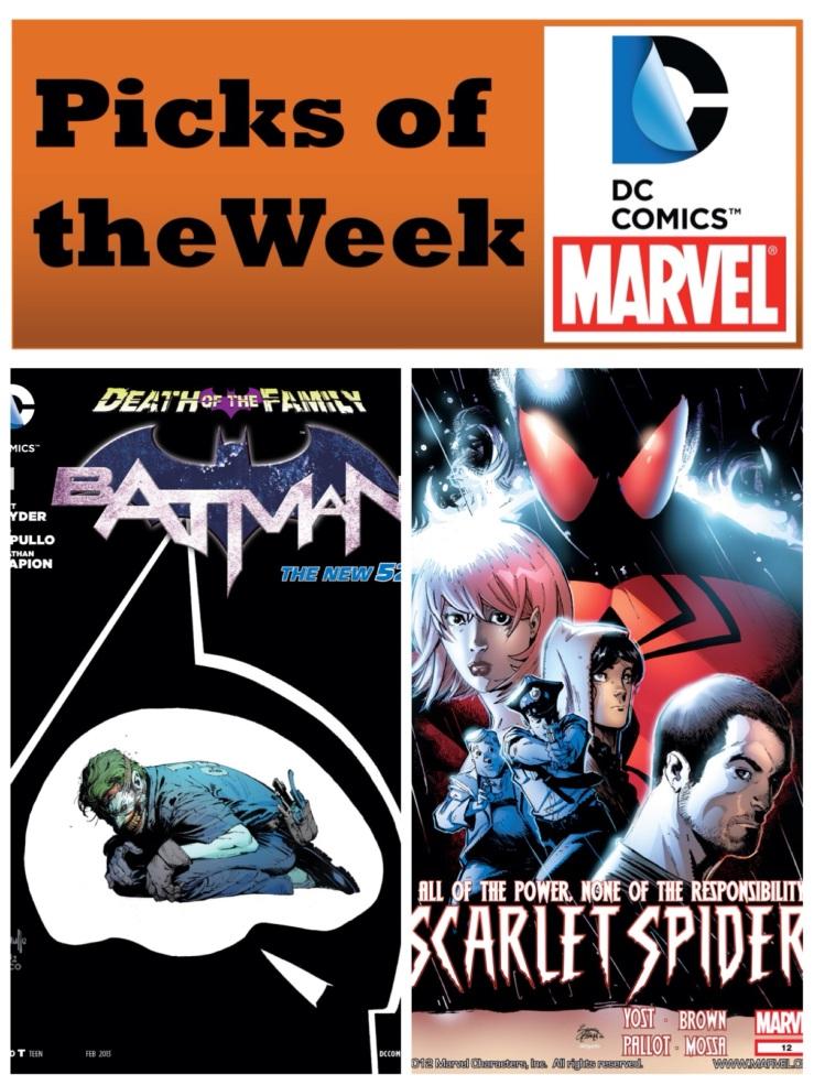 Batman #15 & Scarlet Spider #12