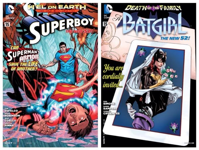 Superboy #15 & Batgirl #15