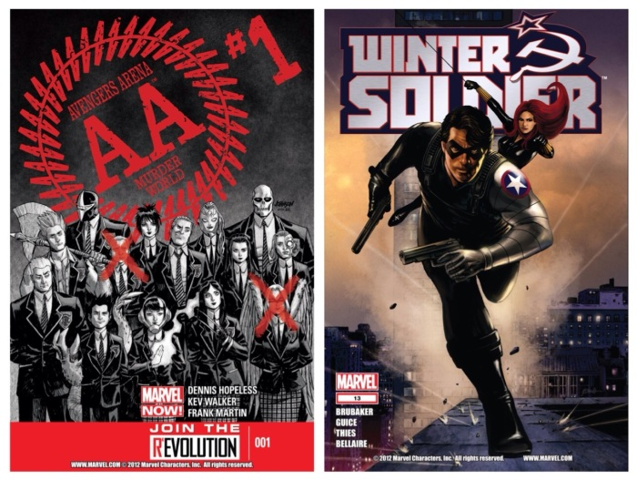 Avengers Arena #1 & Winter Soldier #13