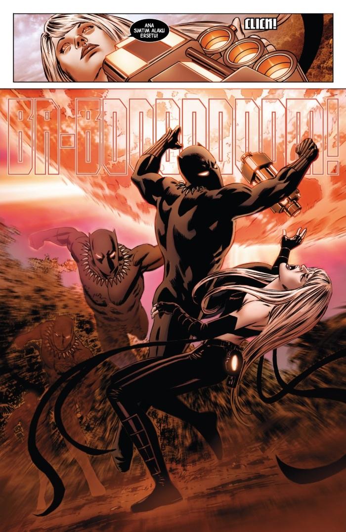 Black Panther strikes!