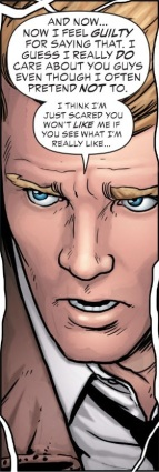 Constantine is sooo insecure! - Justice League Dark #15
