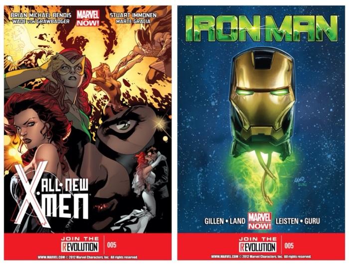 All-New X-Men #5 & Iron Man #5