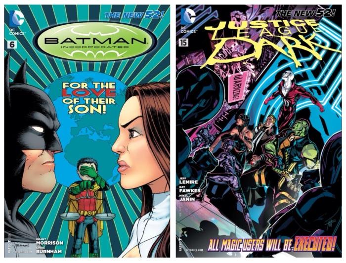 Batman Incorporated #6 & Justice League Dark #15