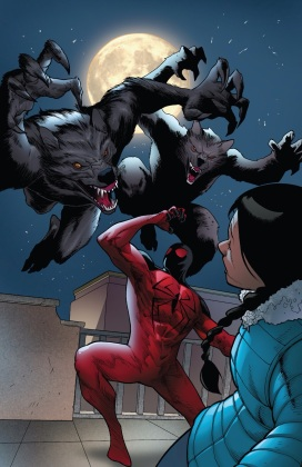 Werewolves the superheroes' natural preditor