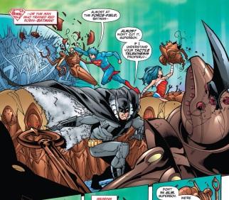 AWWW! Look at Batman's fur-lined cape!