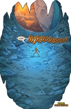 Larfleeze without all of his stuff...