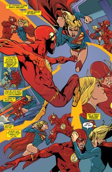 The Flash Vs. Supergirl = EPIC