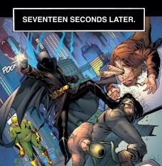 Damian out Batmanning Batman.