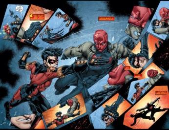 Red Robin Vs Red Hood