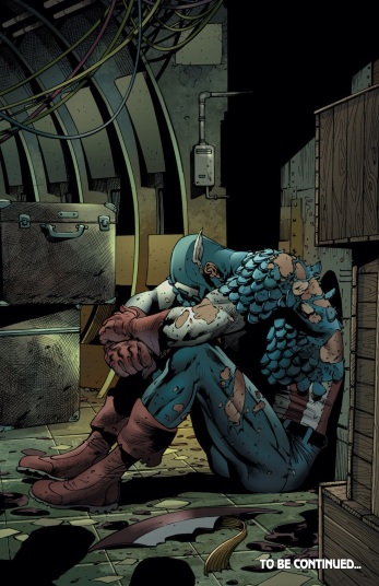 You know shit is bad when Cap's sad!