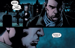 A solitary tear is shed for Damian...