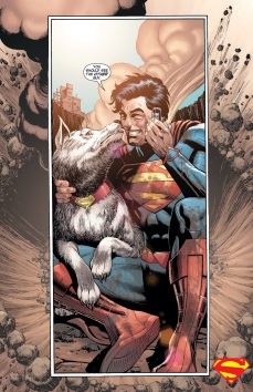 Dawwww Supes and Krypto