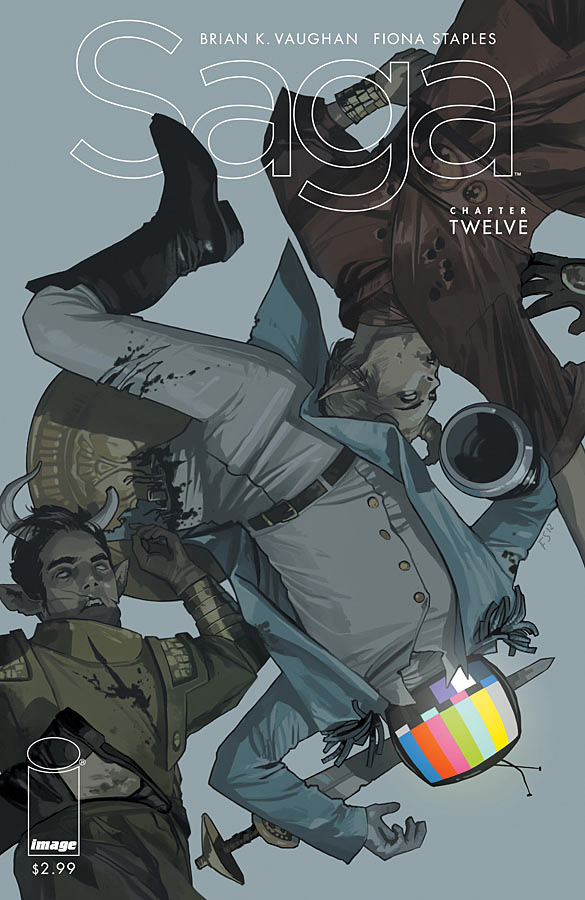 Saga #12 cover