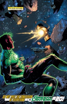 OHYEAH! Sinestro is back!