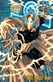 Doctor Fate back on form.