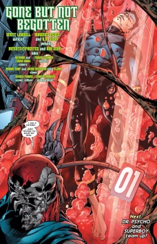 Superboy's new origin is now officially the most complicated origin for Superboy to ever be published.