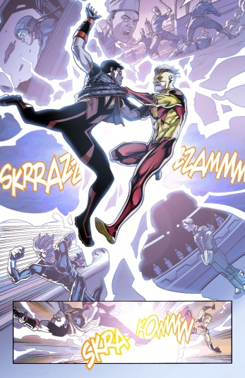 More of Kid Flash's origin teased, yet again.