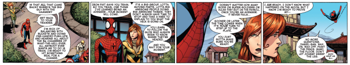 Spider-Man sums up being an Avenger