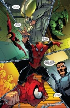 Superior Spider-Man is superior at being a douche.