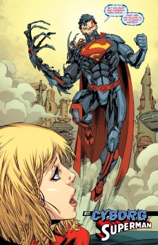 I swear if DC make her fall in love with Cyborg Superman I will punch somebody!