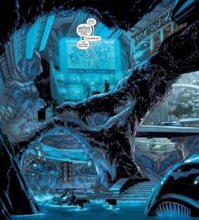 I love it when Jim Lee draws the Batcave