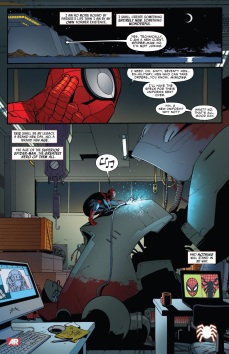 Spidey-Ock slipping back into bad habits...