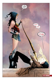Wonder Woman showing everyone how its done