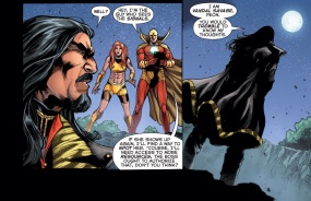 Wow Vandal Savage has cleaned up since DC Universe Presents!