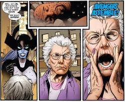 You heard Granny Bad-Ass! ASSEMBLE!!!!
