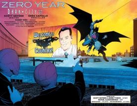 A brilliant take of the original Detective Comics #27 cover