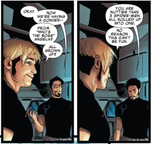 Bendis banter is the key to any Bendis book's success!