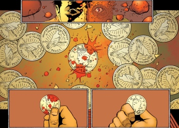 Awesome imagery for the story behind the coin.