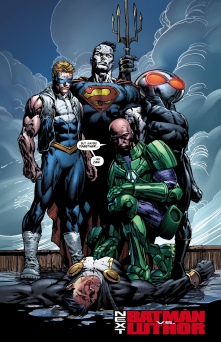 Meet the new Injustice League/Legion of Doom!