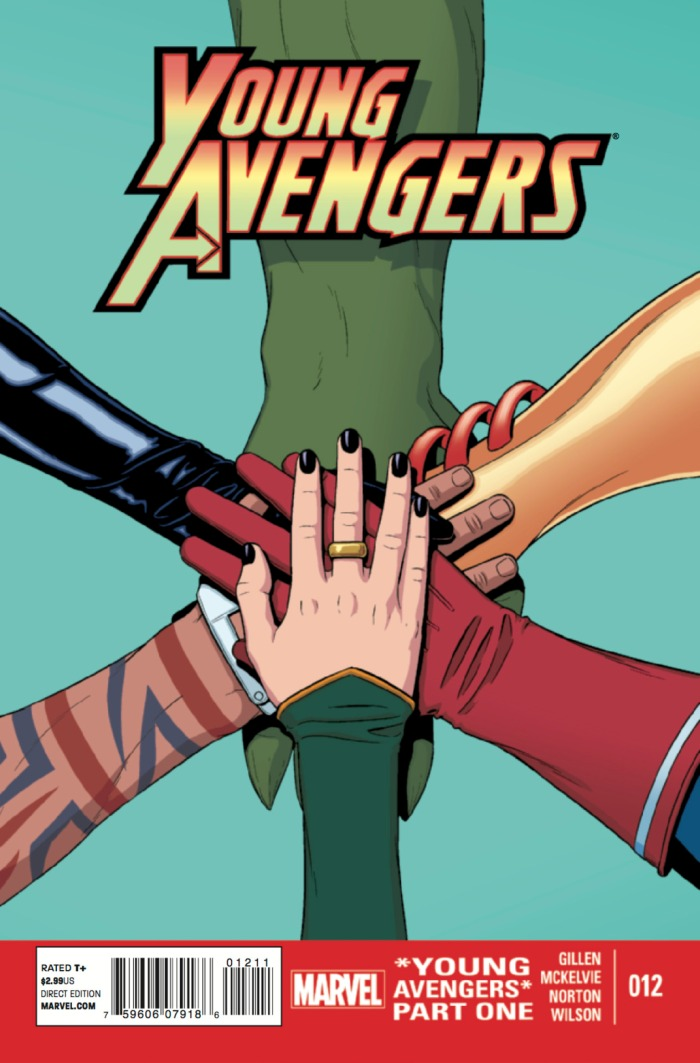 Top 10 7 Young Avengers