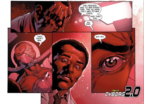 Oh yeah! Cyborg is back! (Yes I am one of the three people who actually care about this)