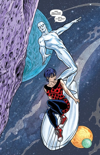 Finally something that made me interested in the Silver Surfer!