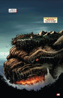 Who knew Madripoor was resting on the head of a giant dragon?
