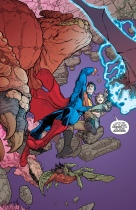 I am loving how well Aaron Kuder's art fits with Superman. It just feels right.