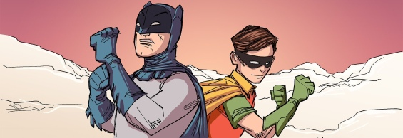 Just two old chums fighting crime together.
