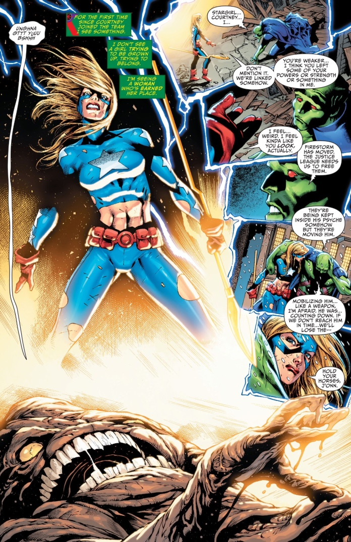 Stargirl being awesome, 'nuff said.