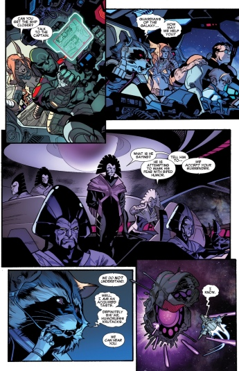 If Rocket Raccoon is half as funny in the GoTG film as he is in the comic we are in for a treat.