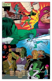 Why I love She-Hulk on one page of beautiful art.