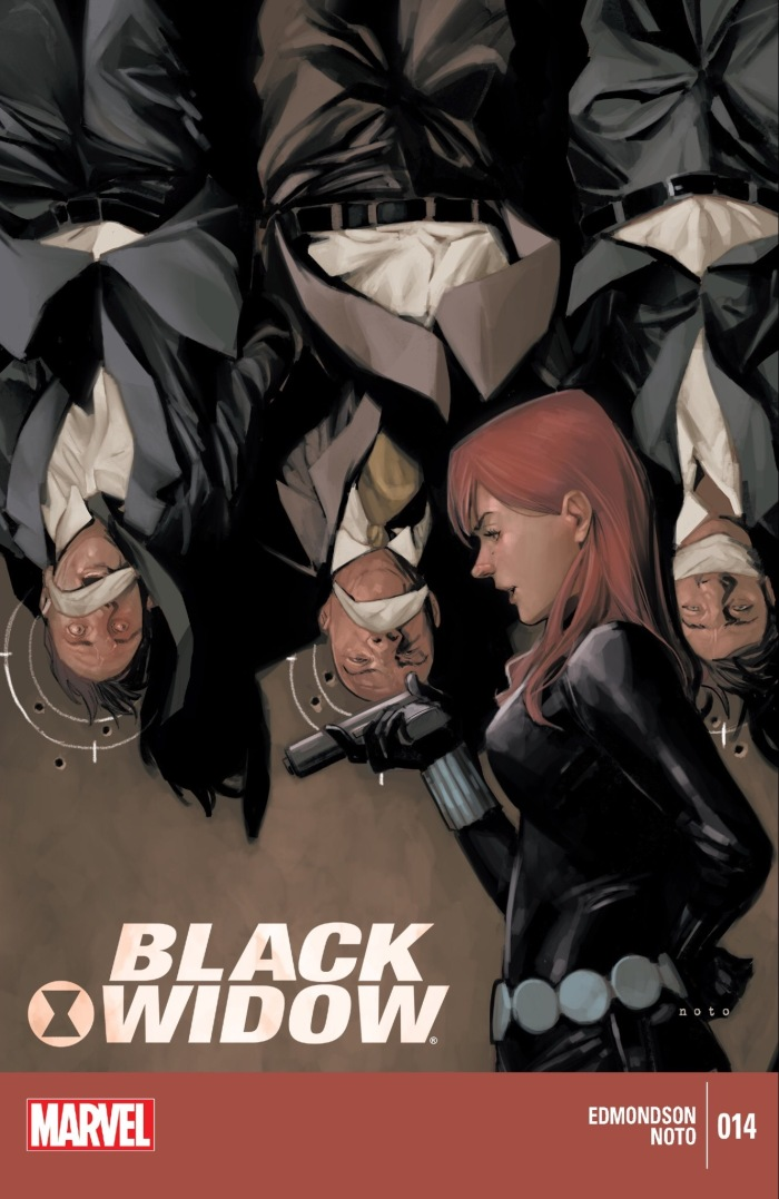 Black Widow #14 Cover