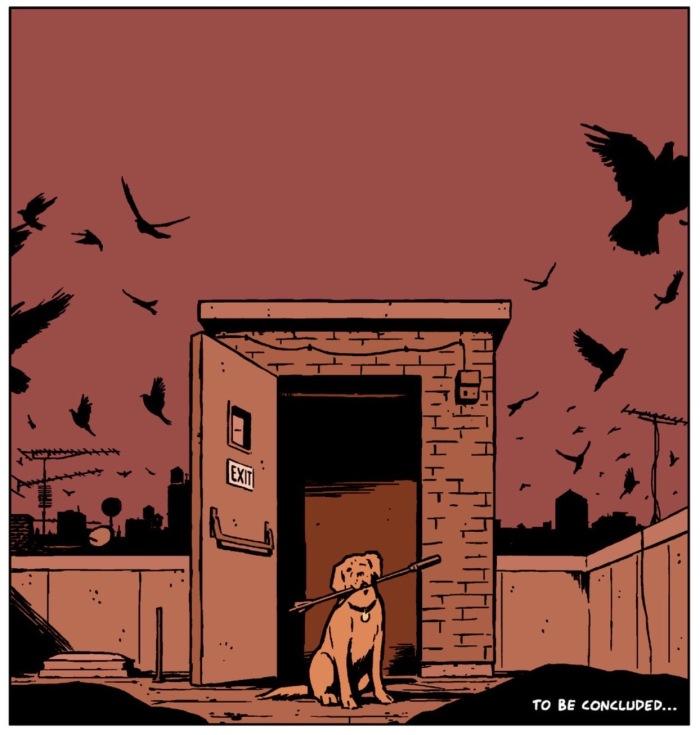 Hawkeye #21 Pizza Dog